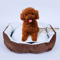 Wholesale Pet bed Dog bed Cat bed Pet sofa waterproof non woven fabric M L size Retail sale Freeshipping