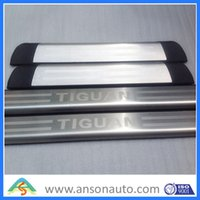Wholesale stainless steel Volkswagen Tiguan door sill plate Scuff Plate welcome pedal set