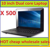 cheap mini laptops - 10 inch Mini laptop VIA8880 Netbook Android laptops VIA8880 Dual Core Cortex A9 Ghz GB GB cheap DHL