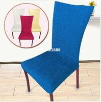 bar chair - Home Decoration Dining room Chair Back Cover Hotel Chair Cover Banquet office restaurant Elastic cloth cover suit wedding bar