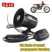 Wholesale Hot Sale V W Sound db Tone Wehicle Car Motor Motorcycle Van Truck Siren Loud Horn Auto Speaker Alarm