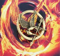 mockingjay - The Hunger Games Brooches Inspired Mockingjay And Arrow Hot Movie Hunger Games Bird Brooch Pins For Women And Men