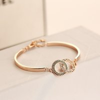 Wholesale luxury bracelets for women fashion high quality bicyclo fashion bracelets with k gold plated new design H00011