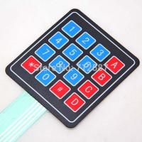 Wholesale New Matrix Array Matrix Keyboard Key Membrane Switch Keypad for arduino