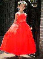 Cheap Summer New Sleeveless Cotton Boutique Girl Dress,Children Dresses Kids Wedding Party Dress For Birthday Photo Wedding Party