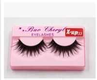 Wholesale X UP33 Supernatural Lifelike handmade false eyelash D strip mink lashes thick fake faux eyelashes Makeup beauty