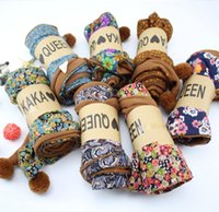 Wholesale 2015 New Children s Scarves Girl Boy Kid Plush Print Ring Wraps Scarf With Ball Winter Warm