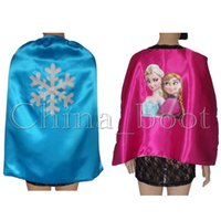 frozen party supplies - 100 Brand New Festive Party Supplies Children Cosplay Frozen capes children capes kids capes package by opp bag