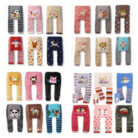 Wholesale Brand New Baby PP Pants Animal Cotton Toddler Tights Leg Warmers Baby Boys Clothes Underpants Girl s Leggings