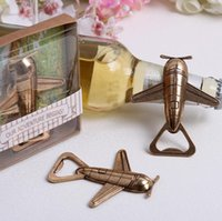 airplane giveaway - Wedding favor gift and giveaways for guest quot Let the Adventure Begin quot Airplane Bottle Opener party souvenir airplane retro wine opener