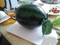 Wholesale Artificial Fruit Watermelon Simulation fruit Watermelon plastic Watermelon home wedding Decoration