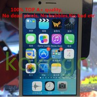 Wholesale DHL TOP A quality No dead pixels bubbles bad For iPhone G S LCD Full Display Touch Screen Panels Digitizer Assembly iphone4