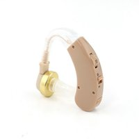Wholesale 2015 Hot Best Sound Amplifier Adjustable Tone Hearing Aids Digital Aid for the old Analog Invisible Freeshipping