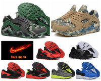 nike huarache - NIKE AIR HUARACHE MEN running shoes top quality breathable camouflage sport shoes plus size