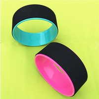 Wholesale New Yoga training wheels Yoga Circles Pilates Ring PC natural resin Magic Circle Pilates Magic Fitness Yoga Dharma Wheel Christmas giift