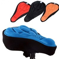 bike shop - free shopping Bicycle Saddle Seat Cover Color Comfortable D Silicone bike Gel Cycling Seat Cover pad