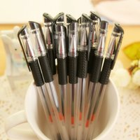 Wholesale A07 Office Supplies Gel Ink pen pen mm Genuine Black