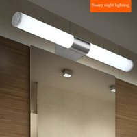 bathroom cabinets vanities - Contemporary stainless steel lights bathroom led mirror light vanity lighting wall lamps mirror cabinet LED lamp