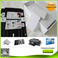 Wholesale glossy inkjet pvc cards for epson and canon inkjet printers l800 l801