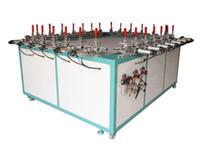 auto stencils - Electric Screen Stretching Machine Auto Pneumatic Clamp Stretcher N Make Screen Printing Plate Stencil Mesh Net Machine Pulling Machine