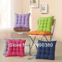 40 * 40 cor sólida de alta densidade cadeira de tecido de escritório escovado Almofada Almofadas decorar para um sofá Almofadas elegante para Home Decor