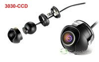 angle mirrors - Mini Wide Angle Waterproof HD CCD Normal Image Car Front Rear View Camera With Mirror Image Convert Line