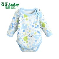 bebe cheap - Cheap Newborn Baby Boy Bodysuit Baby Girls Bodysuits Body Bebe Cotton Long Sleeve Bodies Baby Boys Clothes Body Menina