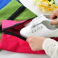best shoe storage - Best price Colors Waterproof Portable Travel Wash Storage Bag Tote Toiletries Laundry Shoe Pouch