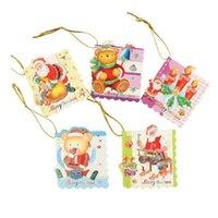 Wholesale Hot Greeting cards Xmas card Creative Lovely Christmas greeting card Christmas cards S0638