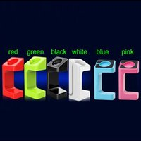 Wholesale 2016 Charging Stand Bracket Holder for Apple Watch Iwatch E7 Desktop Charger Station with Retail Box mix Colors Available Free DHL