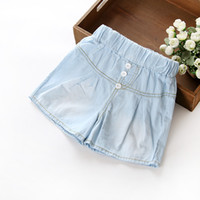 Wholesale children s clothing for boys and girls Korean cotton denim shorts boy pants summer pants