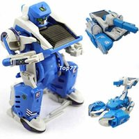 Wholesale High quality new in DIY Solar Robot Scorpion Tank Toy Science Educational Assembly gadget classic toys in original box