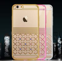 apple iphonr - Plating Laser Quilted Diamond Case Luxury TPU Soft Cover Skin For iPhonr plus inch inch