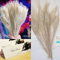 Wholesale White Peacock Tail Eyes Feathers Inches High Quality Peacock Plume DIY Decoration For Wedding Accessories