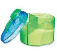 Munchkin 3 fps latas de caja de almacenamiento de la leche en polvo en polvo caja de bocadillos bpa