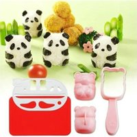 Wholesale Lovely Panda Sushi Rice Mold Mould Seaweed Cutter