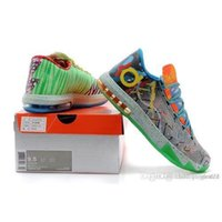 Cheap Factory Sale KD Basketball Shoes KD VI What the KD Athletics Shoes Cheap Sale kd Shoes KD VI 6 Sports Shoes Mens Trainers Sneaker Boot