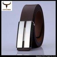 belt buckel - Casual new arrival popular smooth buckel cow belt three colors for men for various occasions special design and crafts