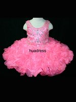Cheap 2015Unique Fashion Scoop Beading Pageant Ball Gown Back Lace-Up Bow Tiers Formal Dress For Little Girl's Pageant Dresses Hot Sale!!#FL120521