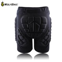 Wholesale Black Short Protective Hip Butt Pad Ski Skate Snowboard skating skiing protection drop resistance roller padded Shorts WOLFBIKE