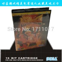 Wholesale Street Of Rage EU JP US Version Game Cartridge bit MD Game Card For Sega Megadrive Genesis