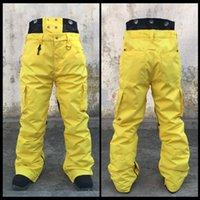 Wholesale Outdoor Breathable Snowboard Pants Men Snow Pants Trousers Waterproof Windproof Warm Breathable Ski Pants