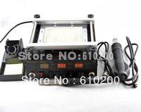 digital rework station - Gordak New product Heat Gun Soldering Station Electric soldering iron IR preheating station in Digital BGA REWORK STATION