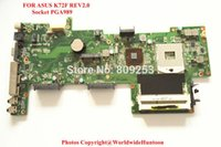 asus warranty support - Original Mainboard for ASUS K72F motherboard PGA989 DDR3 Intergrated good quality Days Warranty Fully tested and