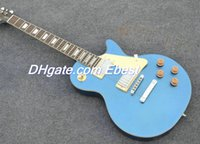chinese guitar - blue Standand guitars rosewood fretboard electric guitars Chinese guitars