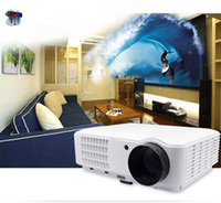 Wholesale Brand New Lumens LED p D Projector Home Cinema Audio Video HDMI USB White Year Warranty