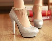 Cheap 2015 Rhinestone Wedding Shoes Free Shipping Silver Gold Red Fashion Women's 12cm Heels Evening Prom Party Bridesmaid Shoes
