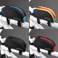 bicycle top tube bag - Mountain Outdoor Bicycle Cycling Frame Front Top PVC Tube Bag Bike Pouch Red Blue Black Yellow