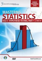 Wholesale Math Tutor DVD Mastering Statistics Volume Hypothesis Testing Part Webrips FLV Complete function unlimited