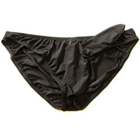 Wholesale Sheer Male G Strings Thong Briefs Milk Silk underwear soft wearing sexy man new model